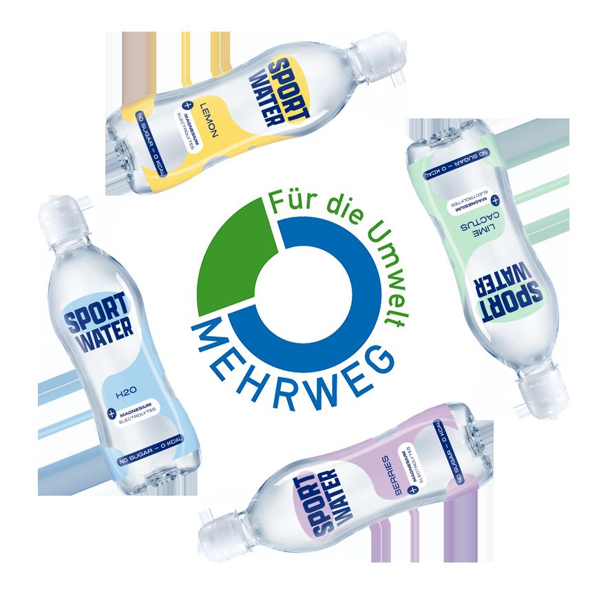 Pfand für sportwasser-flaschen